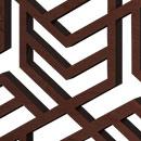 Hexagon Puzzle Dark Brown