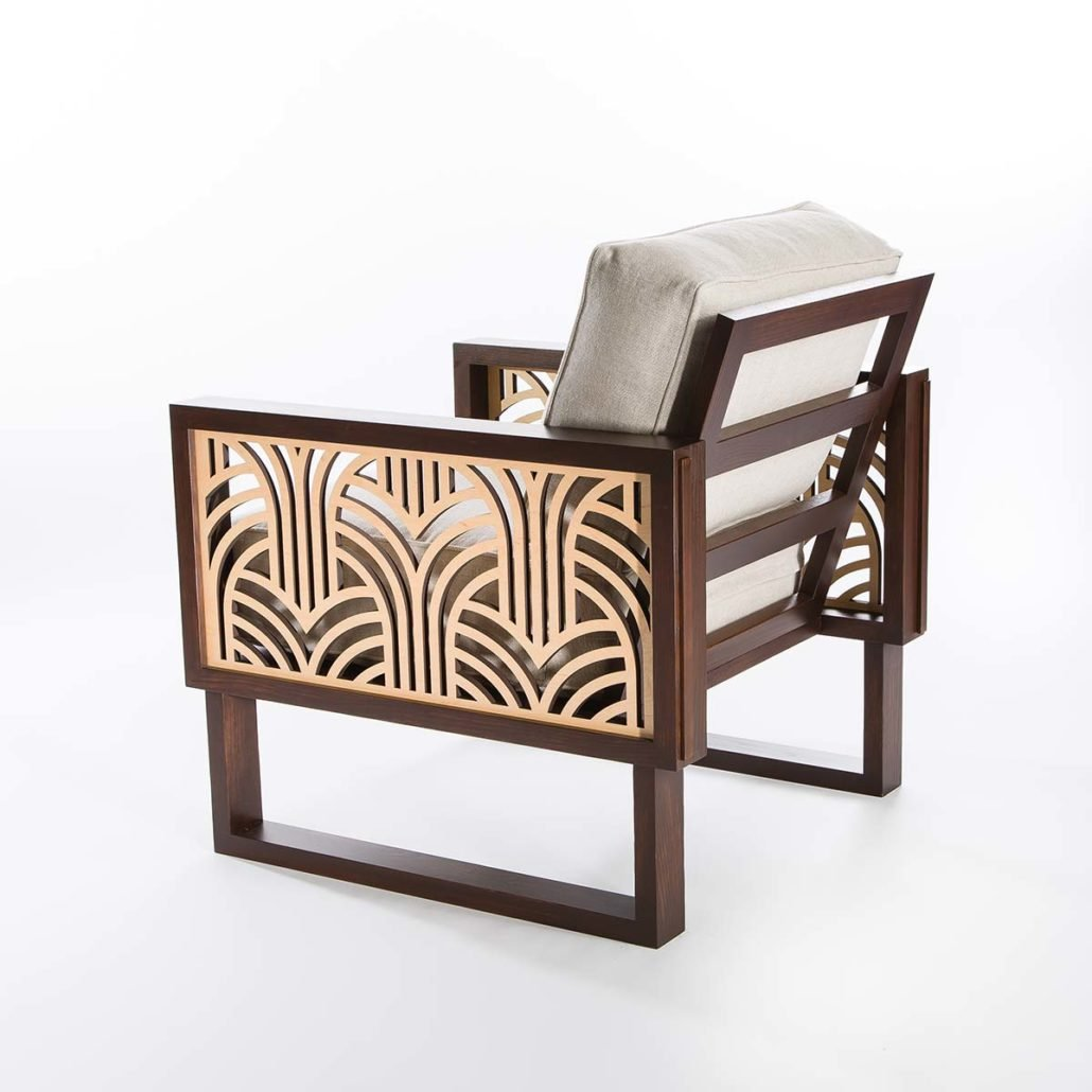 Chairs twist modern for Modern lounge furniture
