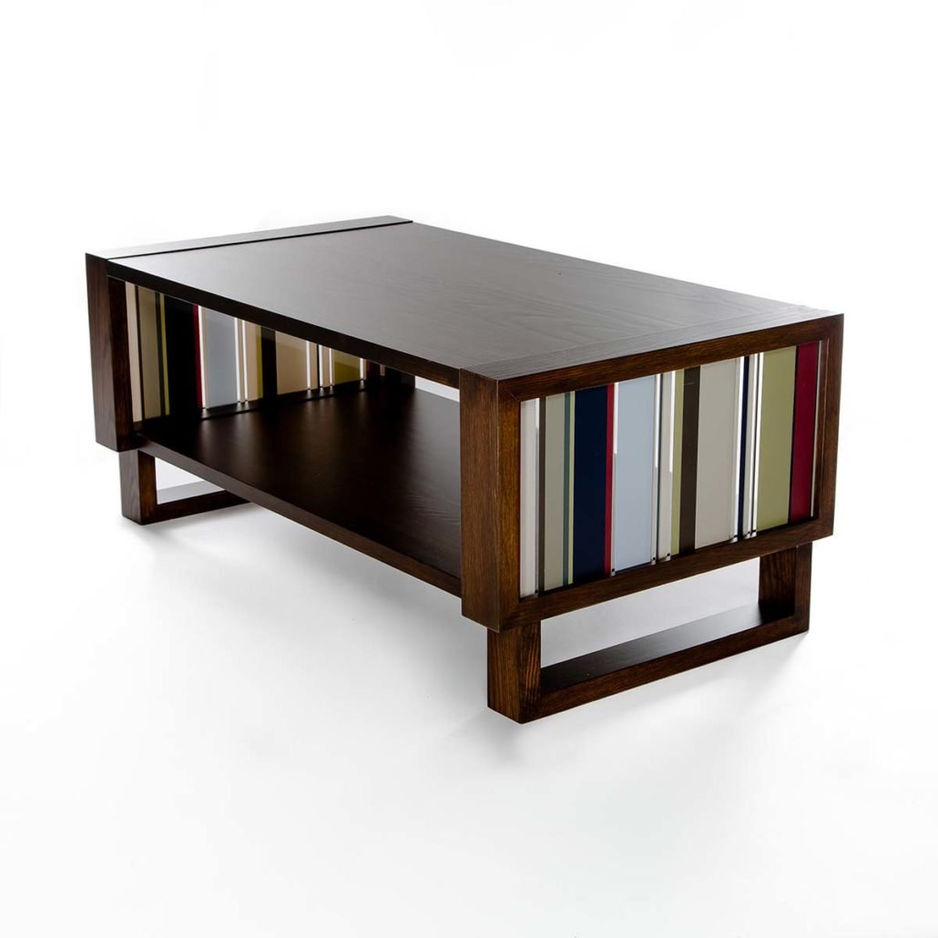 Coffee tables twist modern Handcrafted coffee table