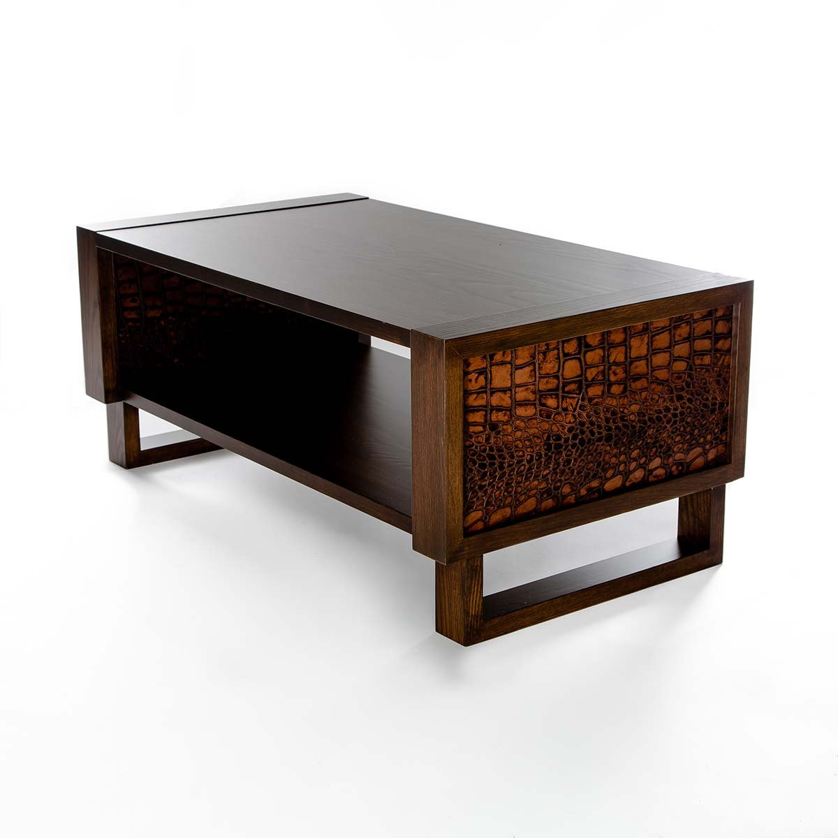 Modern Wood Coffee Table: Custom Coffee Tables