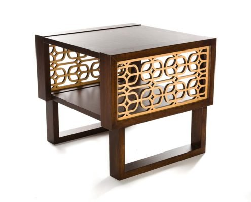 End side table accent modern Twist Modern