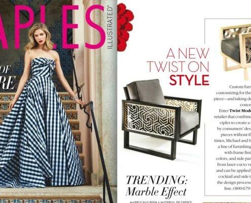 Twist Modern Featured in Naples Illustrated Magazine