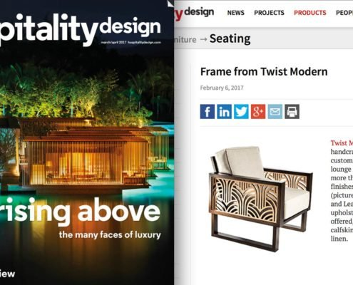 Twist Modern Featuring by Hospitality Design Magazine