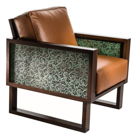 Leather Florence Lounge Chair