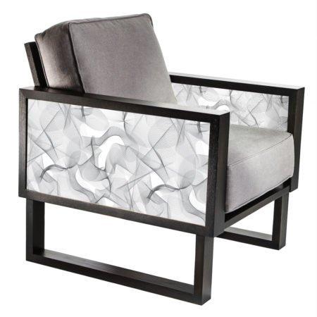 Modern Gray Lounge Chair for living room