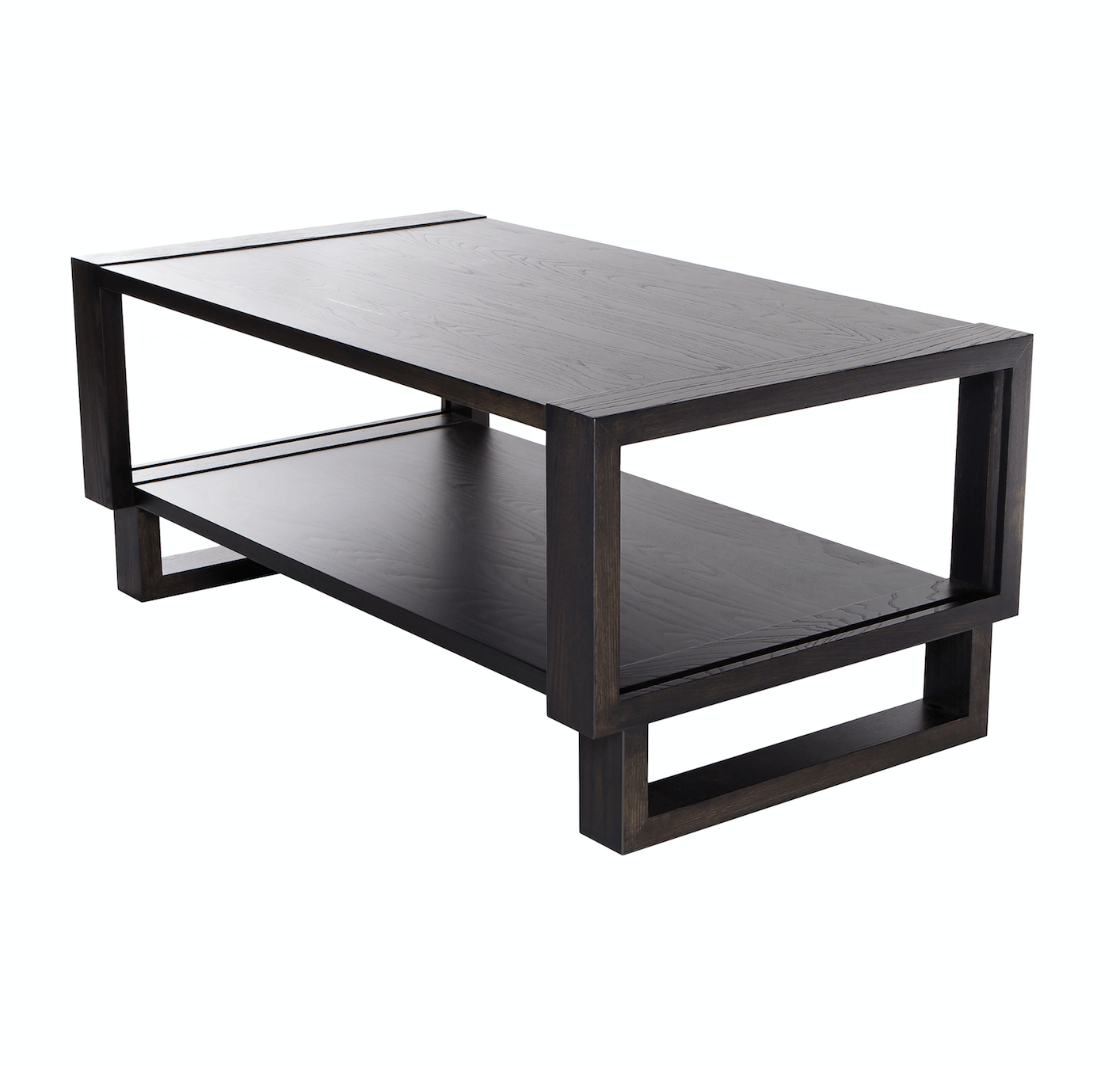 Gray modern coffee table for living room