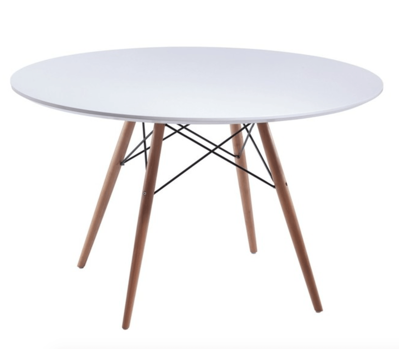 Mid Century Modern Dining Table 36 Round By Fine Mod Imports Twist Modern